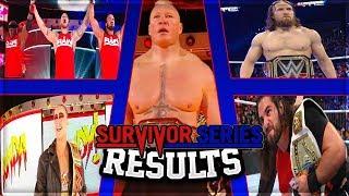 WWE SURVIVOR SERIES 2018 FULL SHOW RESULTS (WWE SURVIVOR SERIES 2018 RESULTS)