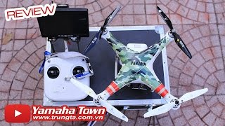 Cận cảnh chiếc Flycam gây bão Vi phạm bản quyền tại Việt Nam [DJI Phantom 2 Ft. Gopro 4 Black] ✔