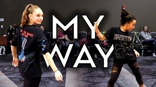 My Way - One Bit & Noah Cyrus  | Radix Dance Fix Season 2 | Brian Friedman Choreography