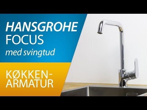 PRODUKT | Hansgrohe Focus køkkenarmatur