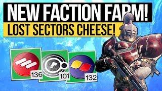 Destiny 2   NEW FACTION TOKEN FARM! -  The Fastest Token Farm in 2018! (February Faction Rally)