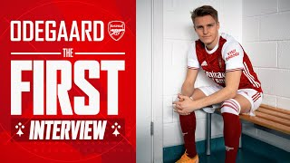 Welcome to The Arsenal, Martin Odegaard | First Interview