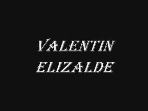 Valentin Elizalde  Pavido Navido