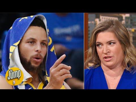 The Warriors' defense was so bad vs. OKC, they had to play zone - Ramona Shelburne | The Jump