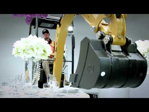 Built For It™ Trials Cat® Mini Excavator Proves It's Not a 'Bull in a China Shop'