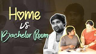 Home VS Bachelor Room || BUMCHICK BABLOO