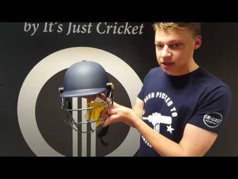 Masuri Legacy Senior Cricket Batting Helmet (Navy)