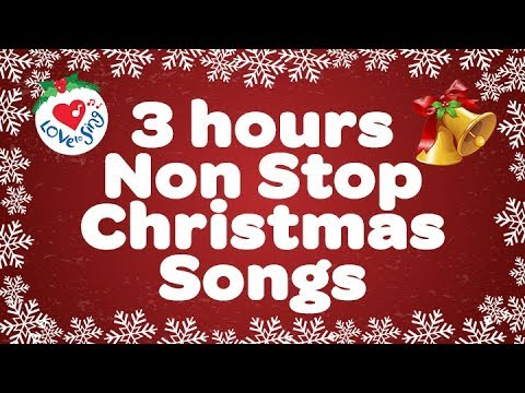 POPULAR CHRISTMAS SONGS 3 HOURS NON STOP 2017 - MERRY CHRISTMAS