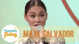 Maja on having a supporting role for Janella Salvador in 'The Killer Bride' | Magandang Buhay