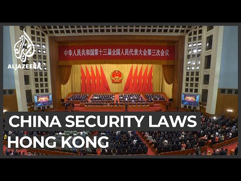 China gives go-ahead for security laws in Hong Kong
