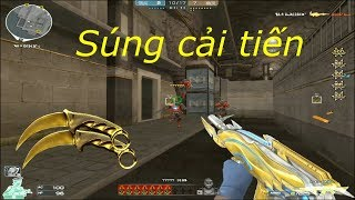 [ Bình Luận CF ] AK-12 Iron Spider-Noble Gold - Tiền Zombie v4