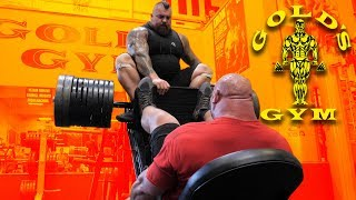 TAKING OVER GOLD'S GYM VENICE WITH EDDIE HALL