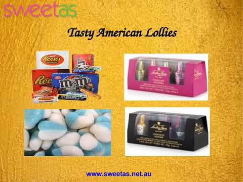 Buy American Lollies from Sweet As