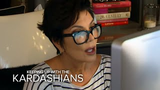 KUWTK | Kris Jenner's Naked Hack Takes a Scary Turn | E!