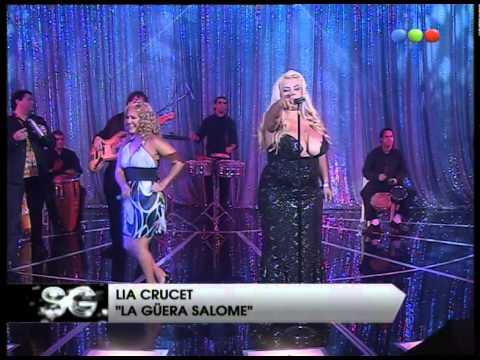 Lía Crucet y Gladys la Bomba Tucumana cantan en vivo - Susana Giménez 2007