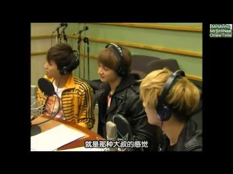 【Mr.Minho&Mr.SHINee&OnewTime】120323 Kiss The Radio SHINee嘉賓 中字