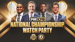 FOX Sports CFP National Championship Watch Party with Joel Klatt and Reggie Bush | CFB ON FOX