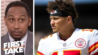 Stephen A. not buying Patrick Mahomes praise from Brett Favre | First Take | ESPN