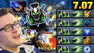 Miracle- 7.07 God Rubick - His Fingers are Too Damn Quick Dota 2 Dueling Fates