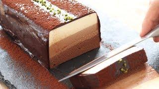 チョコレート・レアチーズケーキの作り方 No-Bake Chocolate Cheesecake|HidaMari Cooking