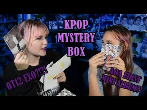 KPOP Mystery Box Unboxing
