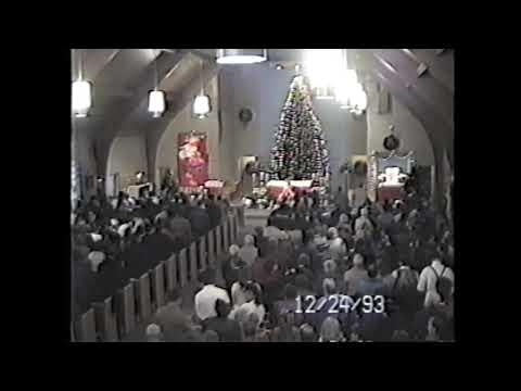 St. Joseph's West Chazy Christmas Eve Mass 12-24-93