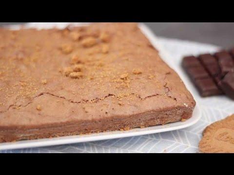 Brownie au chocolat et aux spéculoos