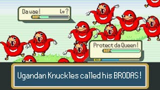 Uganda knuckles vs Pokemon