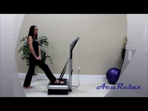 AcuRelax AcuVibes Whole Body Vibration Plate Exercise Training