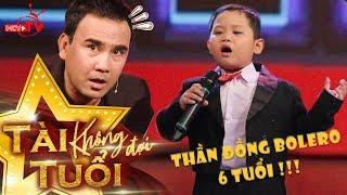 Thần đồng Bolero 6 tuổi Quốc Huy hát Tình Cha khiến Quyền Linh - Lê Lộc - Quang Bảo 'nổi da gà' 😍