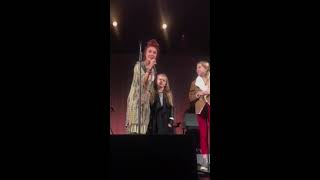 8 Year Old Girl singing You Say at Lauren Daigle Look Up Child Tour at Paramount Theater Seattle