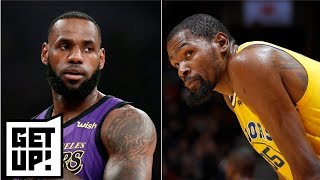 Kevin Durant's comments about LeBron James come off as jealous - Jalen Rose   Get Up!