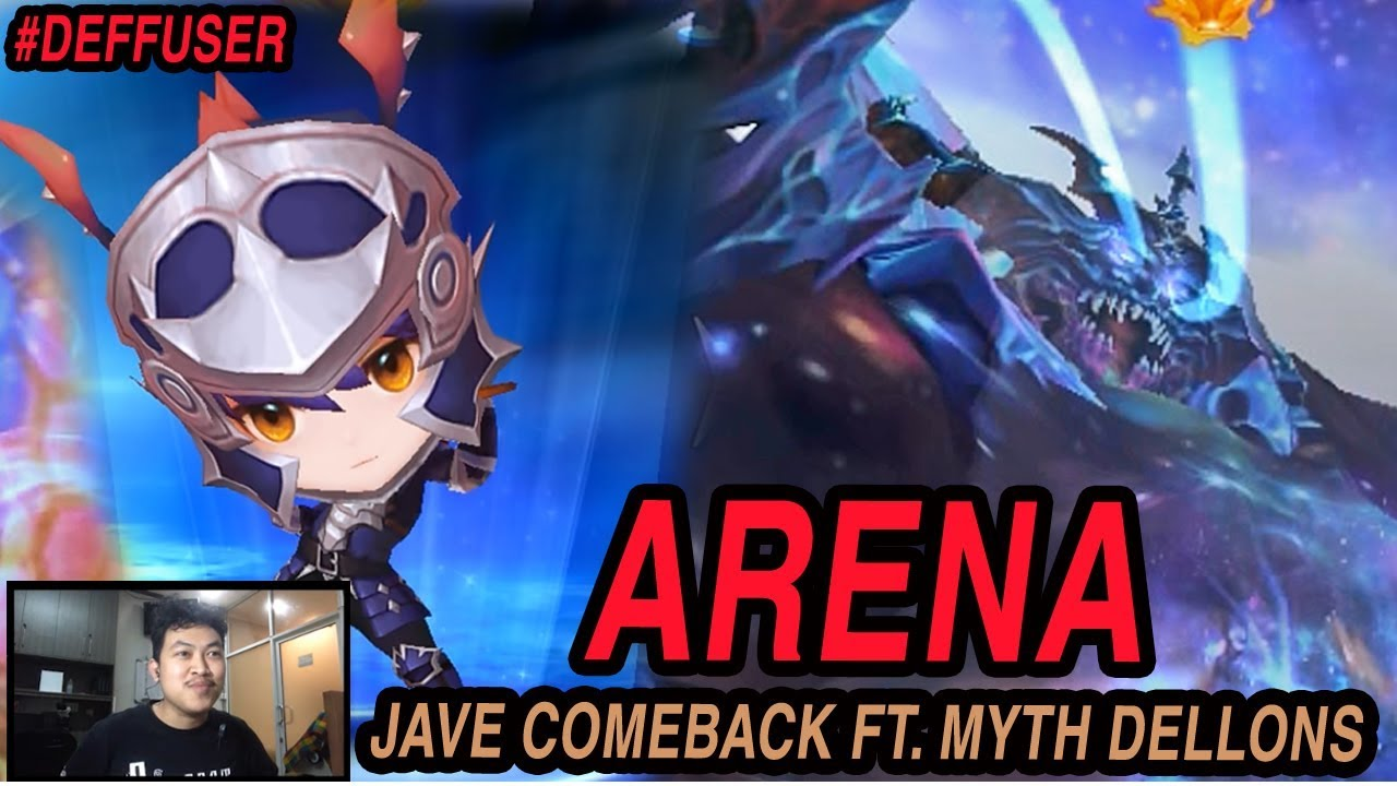 Seven Knights - JAVE TEAM COMEBACK WITH MYTHICAL DELLONS ON ARENA (MAMANG  JAVE REBORN)