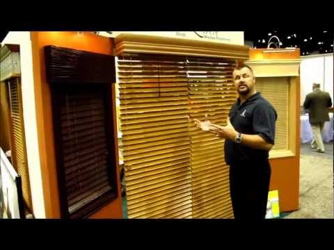 Glider Blinds Track System Tm For A Sliding Glass Door By