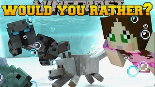 Minecraft: WOULD YOU RATHER Mini-Game