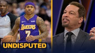 Chris Broussard on Isaiah Thomas' Los Angeles Lakers debut | UNDISPUTED