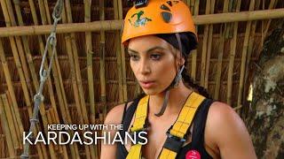 KUWTK | Kim Kardashian's High-Flying Freak-Out | E!