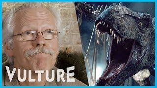 Watch A Dinosaur Expert React to Dinosaur Movies