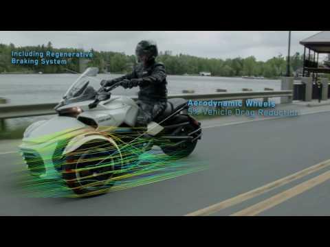 Le Centre de technologies avancées BRP-Université de Sherbrooke (CTA) présente son véhicule concept électrique Can-Am Spyder