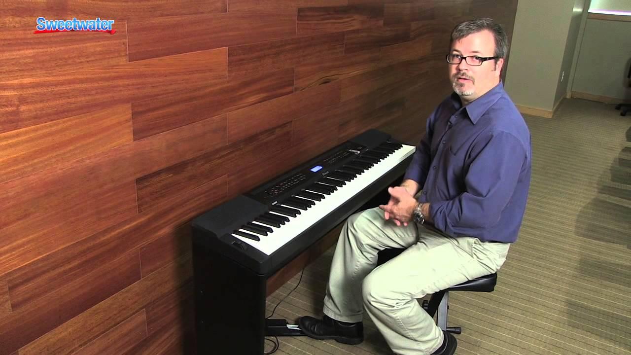 casio privia px 350 digital piano demo sweetwater sound youtube. Black Bedroom Furniture Sets. Home Design Ideas