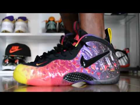 "Nike Foamposite Pro ""Asteroid"" (On Feet) + How To A Free ...