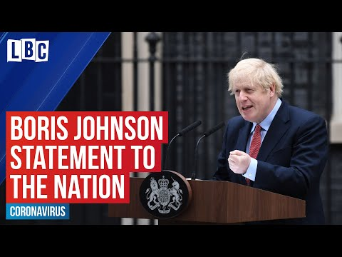 Breaking: Boris Johnson urges the nation to remain patient over coronavirus lockdown | LBC