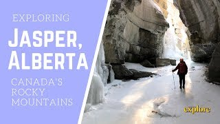 Epic Winter Adventures in Jasper, Alberta | Canadian Rockies Mountain Range | Explore Magazine