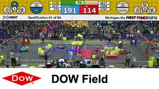 2018 Dow Field Qualification Match 61