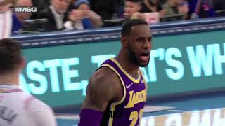 LeBron James trying to be a go to guy but he never clutch games sound effects