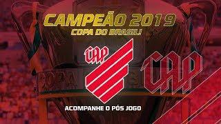 FURACÃO CAMPEÃO DA COPA DO BRASIL! Acompanhe o pós-jogo do Athletico
