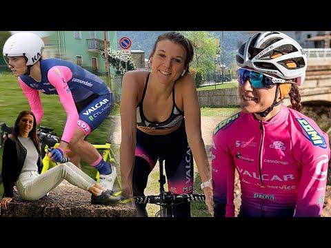 "Barbara Malcotti a ""Cicliste in streaming"""