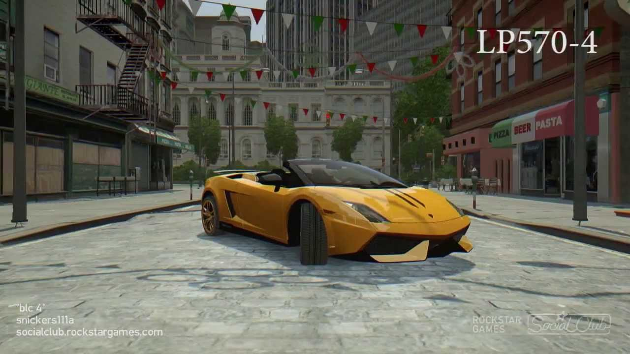 gta iv best looking car 3 italy cars youtube. Black Bedroom Furniture Sets. Home Design Ideas
