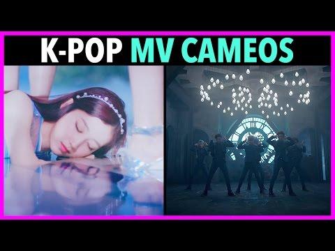 K-POP IDOL CAMEO'S IN MV'S!