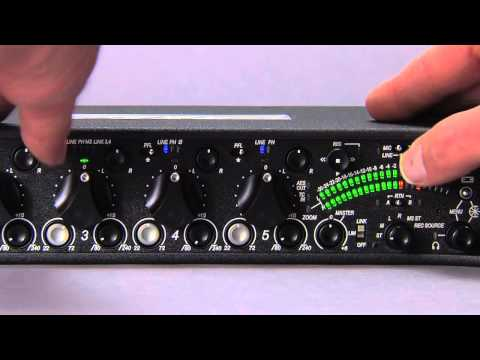 552 Field Mixer - Input Setup